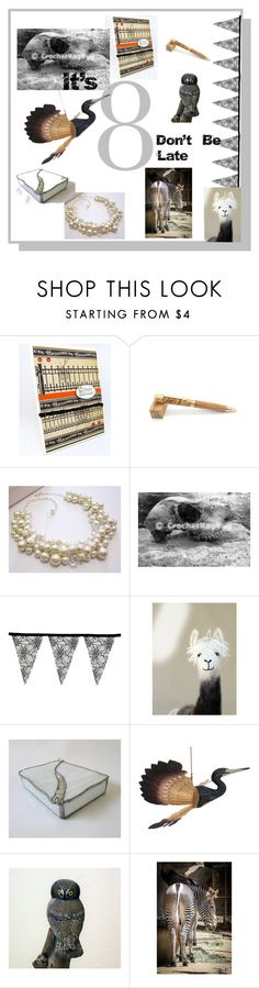 """""""It's 8, Don't be Late"""" by suzannee43 ❤ liked on Polyvore featuring memento"""