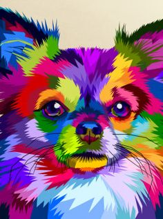 Find Colorful Chihuahua Dog Pop Art Style stock images in HD and millions of other royalty-free stock photos, illustrations and vectors in the Shutterstock collection. Thousands of new, high-quality pictures added every day. Pop Art Posters, Animal Posters, Dog Pop Art, Dog Art, Arte Pop, Dog Horoscope, Shih Tzu Hund, Tatoo Dog, Arte Van Gogh