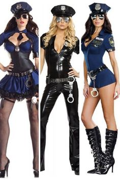 I have always enjoyed dressing up as a naughty police woman for Halloween as its a good excuse to look dang sexy!   Sinister, Cute and Slightly Naughty Cop Halloween Costumes for Women
