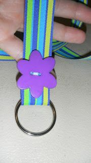 How to make your own lanyards - I know I am going to wish later that I didn't pin this - ha ha!