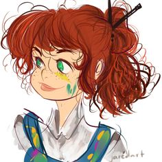 Read 29 from the story Imágenes de: Rachel Elizabeth Dare by (🍦Heladito🍦) with 49 reads. Rachel Elizabeth Dare, Percy Jackson Drawings, Percy Jackson Books, We Are The Heroes, Dibujos Percy Jackson, Bonnie Wright, Annabeth Chase, Rick Riordan Books, Percabeth