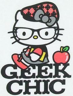 Hello kitty geeky chic
