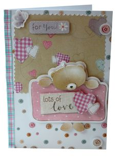 Forever Friends card by CardsbyCharlotte on Etsy, £3.00