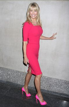 "Christie Brinkley Photos  - Celebrities Arrive At The ""Today"" Show - Zimbio"