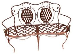 French Iron   Bench   Outside In   One Kings Lane