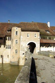 Porte Sain-Jean, St.Ursanne, Jura