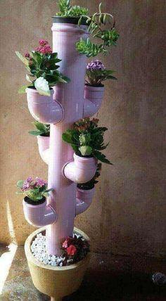 41 Excellent Diy Gardening Tips Ideen Do-it-yourself (oder DIY) Garten-Design-Se Flower Planters, Garden Planters, Succulents Garden, Flower Pots, Flowers, Tire Planters, Wall Planters, Planter Pots, Diy Home Crafts