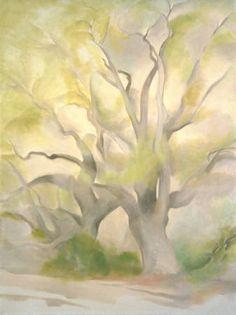 Georgia O'Keeffe. Green Tree - 1953