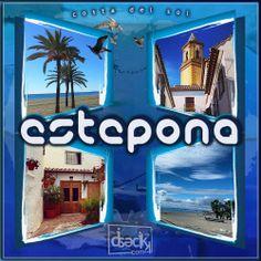 diseño gráfico de la ciudad de estepona en la costa del sol by diseclick.com