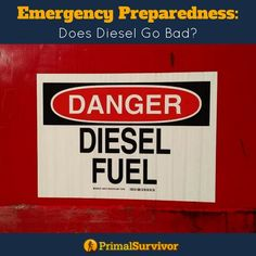 Find out how to safely store Diesel for emergency preparedenss so that it doesn't go bad. #fuelstorage #diesel #emergencypreparedness