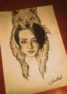 Pencil drawing.  Title: The weakness and the Strenght     By: Amethysto0O, follow me on Pinterest and Deviantart!