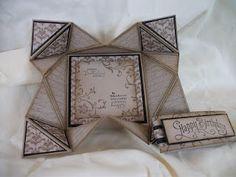 Amazing fancy fold card.