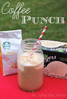 Coffee Punch Recipe - A delicious easy drink for your next party!