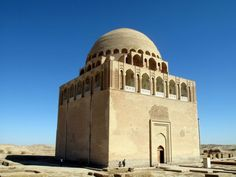 The 12th-century mausoleum of Sultan Sanjar in the old oasis-city of Merv, on the historical Silk Road, near Mary in Turkmenistan
