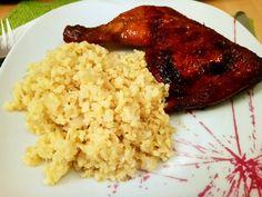 Különleges mézes csirkecombok bulgurral! Ha egy fenséges ebédre vágysz, próbáld ki!