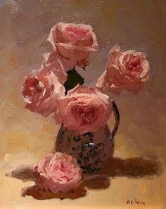 Interesting to see how the background was handled, because I always struggle with that. Dennis Perin: Roses