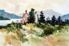"""Carl Purcell """"Laggan cottage"""""""
