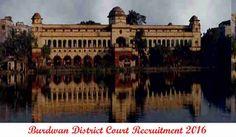 Burdwan District Court Recruitment 2016 Apply Online 130 LDC Peon Stenographer Posts, Burdwan District Court Notification 2016 Application Form