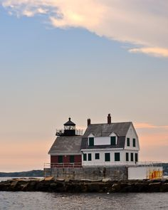 Maine Lighthouses and Beyond: Rockland Breakwater Lighthouse