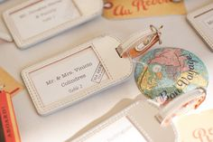 Travel wedding favor luggage tag escort cards and favors for themed leather . Wedding Favours Luxury, Homemade Wedding Favors, Unique Wedding Favors, Wedding Decor, Wedding Reception, Wedding Entrance, Wedding Ideas, Trendy Wedding, Wedding Bells