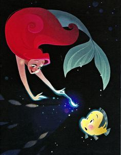 The Disney Elite — Brittney Lee's gorgeous illustrations from the...