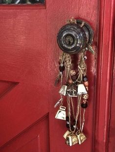 witch door wiccan protection bells witchcraft witches altar supplies wicca boho juul pagan decoration witchy kitchen decorations aesthetic shadows charm