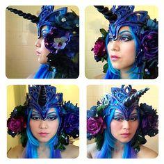 Unicorn costume head piece