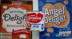 Angel Delight Heavenly Delight Butterscotch Evaporated Milk Angel Delight, Gimme Some Sugar, Evaporated Milk, Great Desserts, Lidl, Pop Tarts, Heavenly, Snack Recipes, Youth