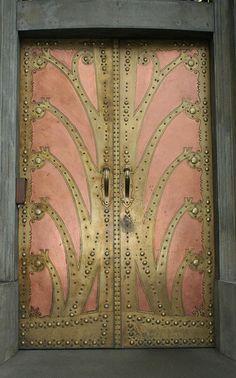 awesome door in prague