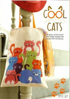 """""""Cool Cats"""" © Cross Stitcher 
