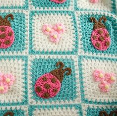 Crochet For Children: Bugs and Blooms Blanket - Free Pattern