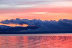 Sunrise on Flathead Lake - Montana.