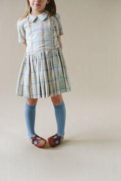 + Camp dress- Plaid