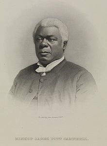 February 8, 2014- Today we honor the memory of Bishop Jabez Pitt Campbell, the eighth Bishop of the A.M. E. Church who was born February 5, 1815 in Slaughter Neck, Sussex County Delaware. He was born the son of two former slaves, Anthony Campbell, and Catherine Young. Both his grandfathers were soldiers during the Revolutionary War which was a rarity as it was noted that less 5000 Africans served in the Continental Army.