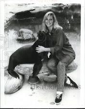 1989 Press Photo Lindsay Wagner stars in Peaceable Kingdom TV show - cvp73352