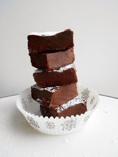 Culinary Couture: Four-Ingredient Healthy Fudge