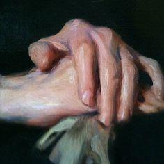 Hand close-up from DeLászló's portrait of Dr. Squier. At @huntermuseum #portrait #detail #portraiture #hands #classic by aloza