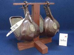 Japanese-Samurai-Abumi-Stirrups-Raden-Mother-of-Pearl-Inlay-Horse-Shoe-Armor-Art