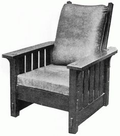 1910 Stickley Reclining Chair (No.  sc 1 st  Pinterest : scs chairs recliner chairs - islam-shia.org