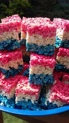 Forth of July rice crispy treats. I feel a aunt and niece moment happening in the near future ;)