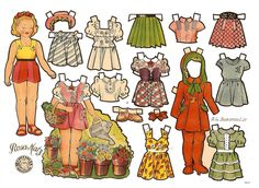 muñecas recortables, paper dolls, Бумажные куклы , bambole da carta, poupées en papier, 纸娃娃 , – merimartinez1 – Webová alba Picasa