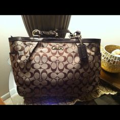 "Spotted while shopping on Poshmark: ""BIG SALE.  Authentic Coach bag""! #poshmark #fashion #shopping #style #Coach #Handbags"