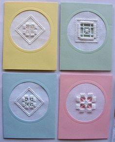 There are also some pieces with hardanger elements on the 'Counted and Drawn Thread' page. This is Mary Hickmott's 'Delicate Dreams' des...