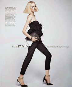 Julia Nobis By Nathaniel Goldberg Harper's Bazaar US October 2013