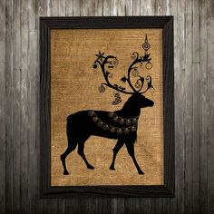 Hey, I found this really awesome Etsy listing at https://www.etsy.com/listing/274179372/stag-print-deer-art-animal-poster-burlap