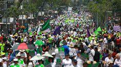 El pasado 25 de abril se realizó la IV Marcha Por la Vida en la Ciudad de México con más de 10 mil participantes. El recorrido comenzó en el Monumento a la Madre. Luego de un pequeño concierto y dos testimonios se dirigieron hacia la Asamblea Legislativa, donde se aprobó el aborto hace ocho años. https://www.aciprensa.com/noticias/marcha-por-la-vida-con-el-aborto-matamos-la-inocencia-y-esperanza-de-mexico-52472/