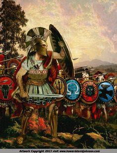 Spartain warriors Greek Hoplights Phalanx