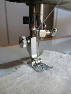 Sewing machine tension~ - Tutorial for resetting your tension on your sewing machine