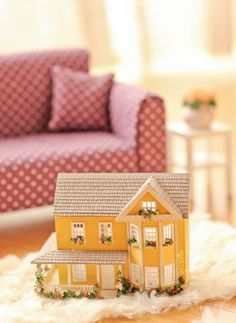 Dollhouse For Your Doll's Dollhouse! by heavendrop on Flickr.