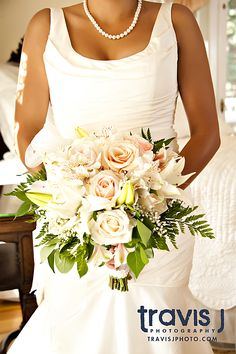 White and Pink wedding flowers, Travis J Photography, Colorado